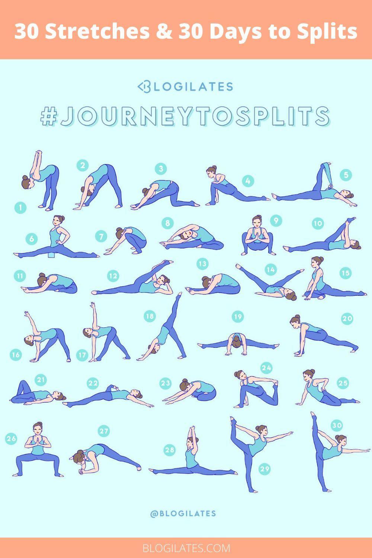 30 Days & 30 Stretches to Splits! #JourneytoSplits