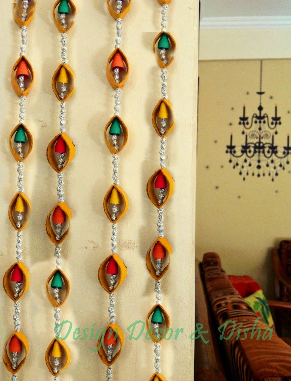 Diwali DIY Made Easy With Venue: Wall Hanging DIY … | diwali craft ...