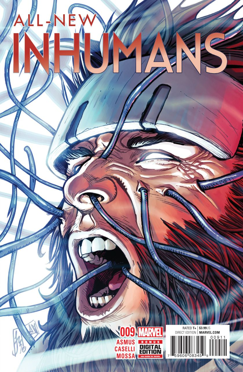 All-New Inhumans # 9 by Stefano Caselli