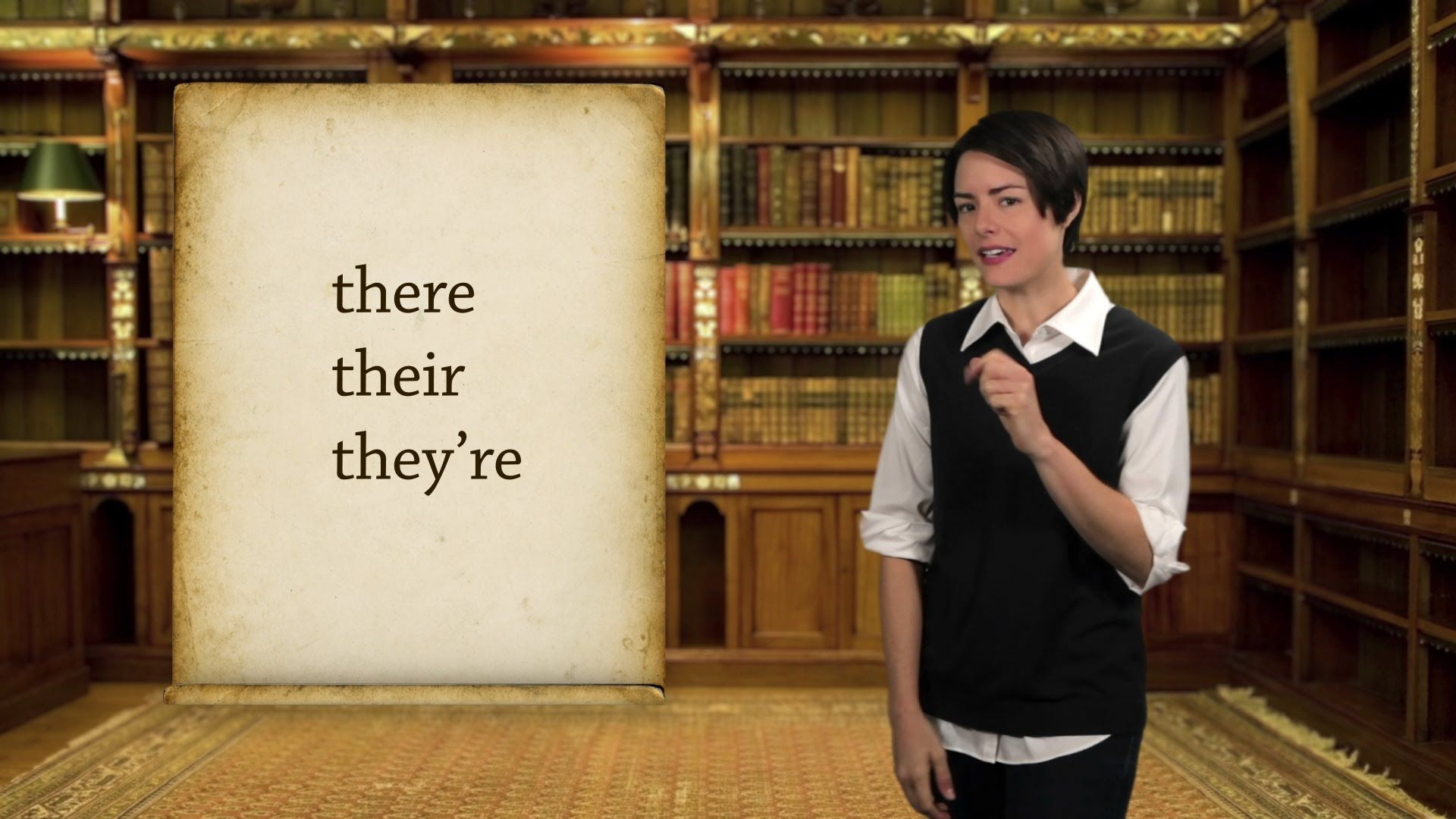 English Grammar Basics There Their And They Re