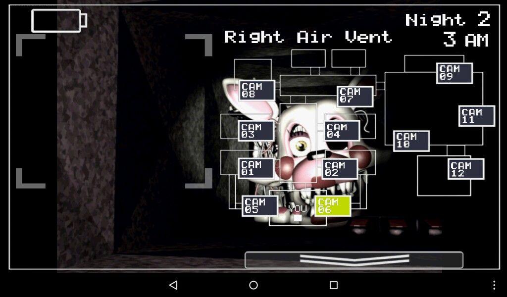 Mangle in Fnaf 2 | Stuff I Made | Fnaf, Games, Horror video