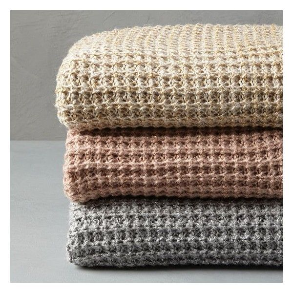"West Elm Throw Blanket Pleasing West Elm Solid Metallic Knit Throw 50""x60"" Frost Graysilver $39 Inspiration"
