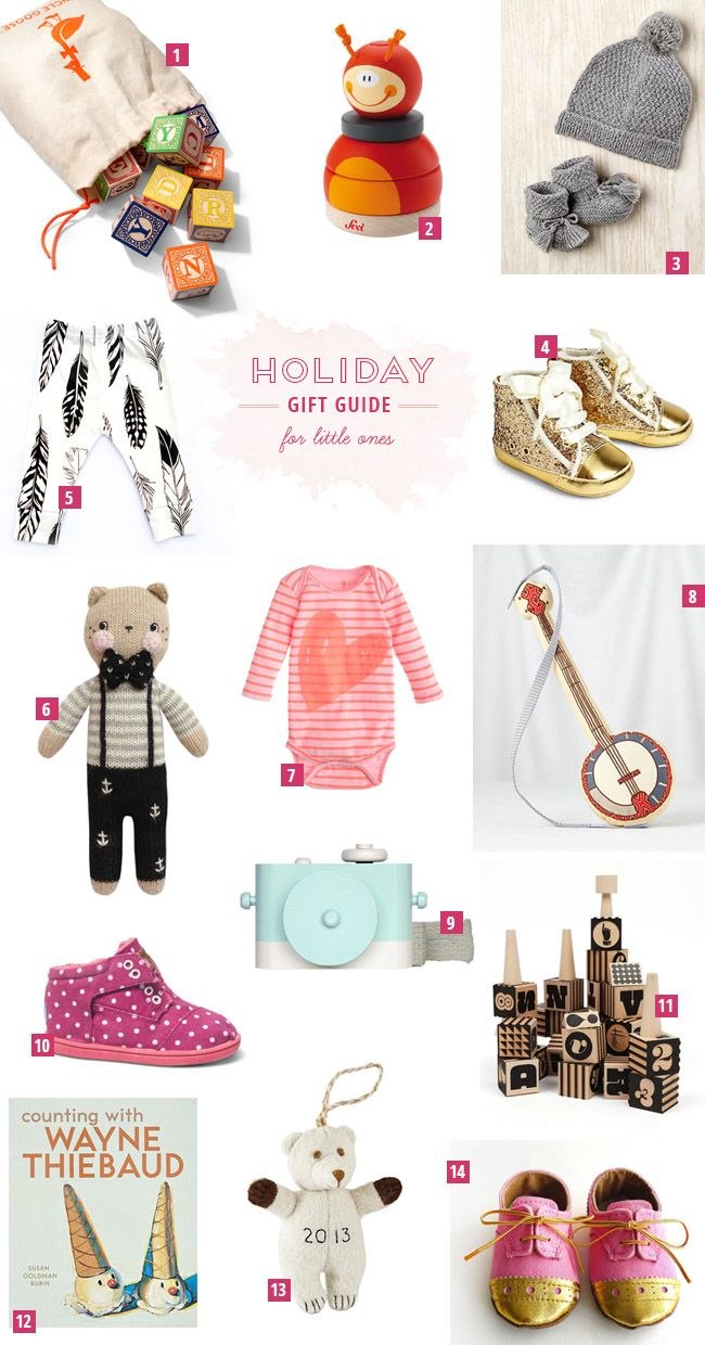 Holiday Gift Guide for Little Ones | .little ones. | Pinterest