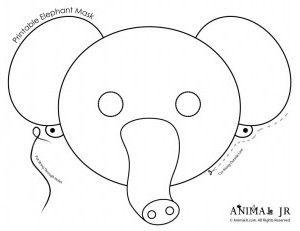 African Animal Mask Craft Google Search Winter Camp Jpg 300x231 Masks Templates Printable