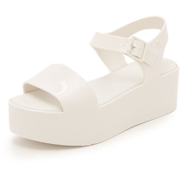 1eca854669a1 Melissa Mar Flatform Sandals (1.649.480 IDR) ❤ liked on Polyvore featuring  shoes