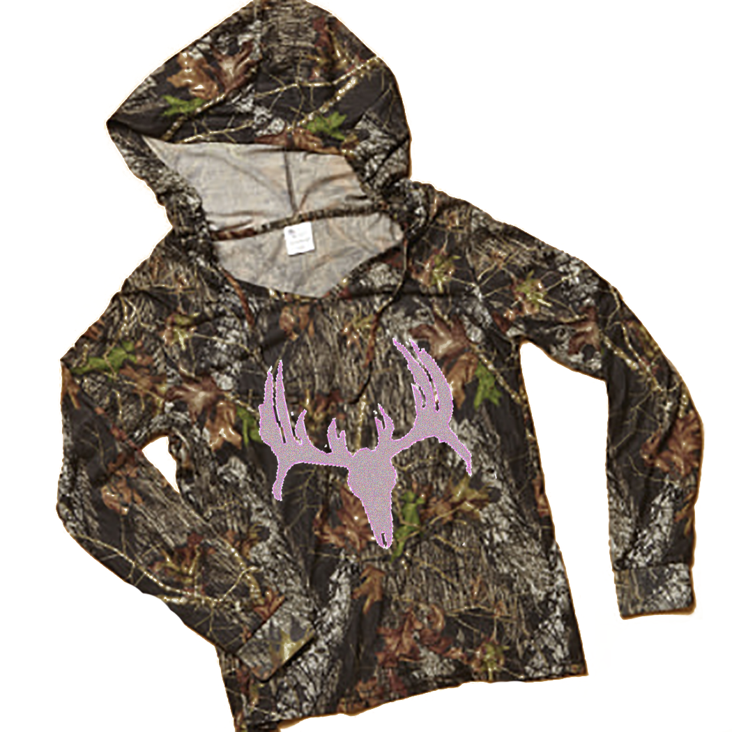 Southern Sisters Designs - Mossy Oak Silver Shimmer Deer Skull Hoodie For Women and Teens, $37.95 (http://www.southernsistersdesigns.com/mossy-oak-silver-shimmer-deer-skull-hoodie-for-women-and-teens/)