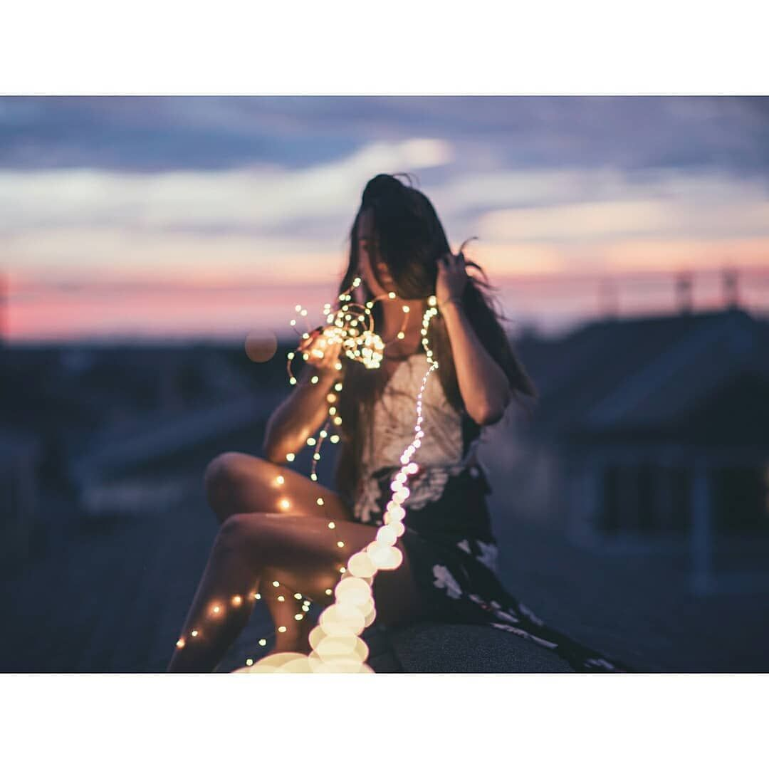 I Feel It After Midnight A Feeling That You Cant Fight Fairytaillights Fairylights Fairytai Tumblr Photography Portrait Photography Photography Inspiration