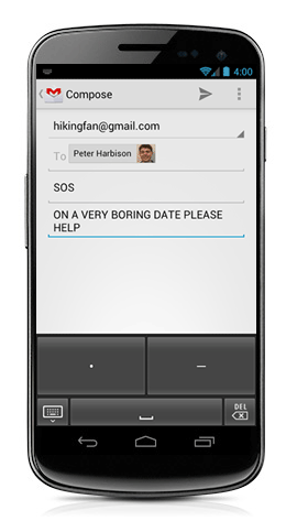 Gmail new typing on Android devices