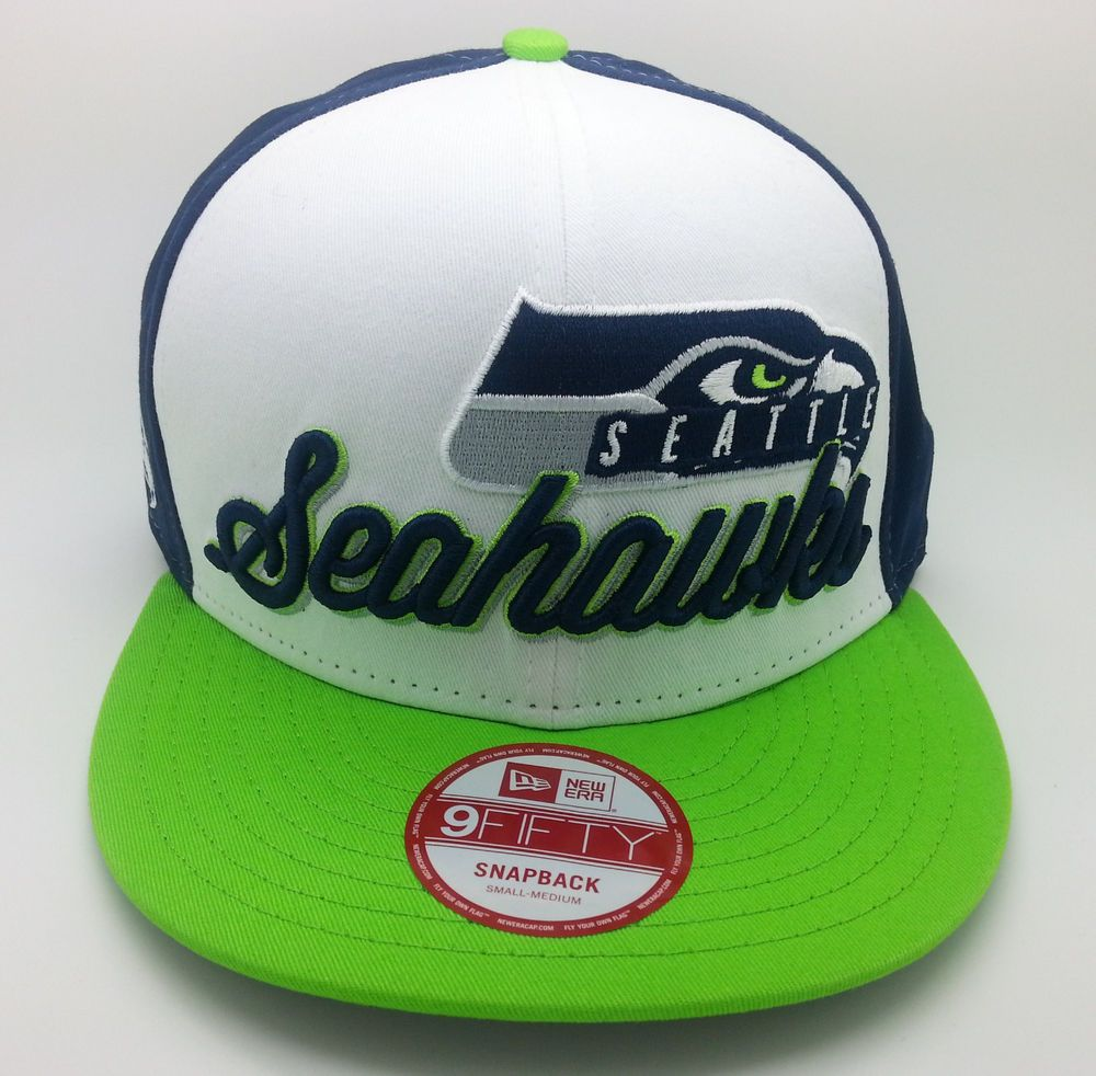 designer fashion b0a27 8f269 SEATTLE SEAHAWKS NEW ERA 9FIFTY SNAPBACK HAT CAP (SMALL-MEDIUM) -- NEW   NewEra  SeattleSeahawks