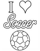 I Love Soccer Coloring Pages Summer Coloring Pages Coloring