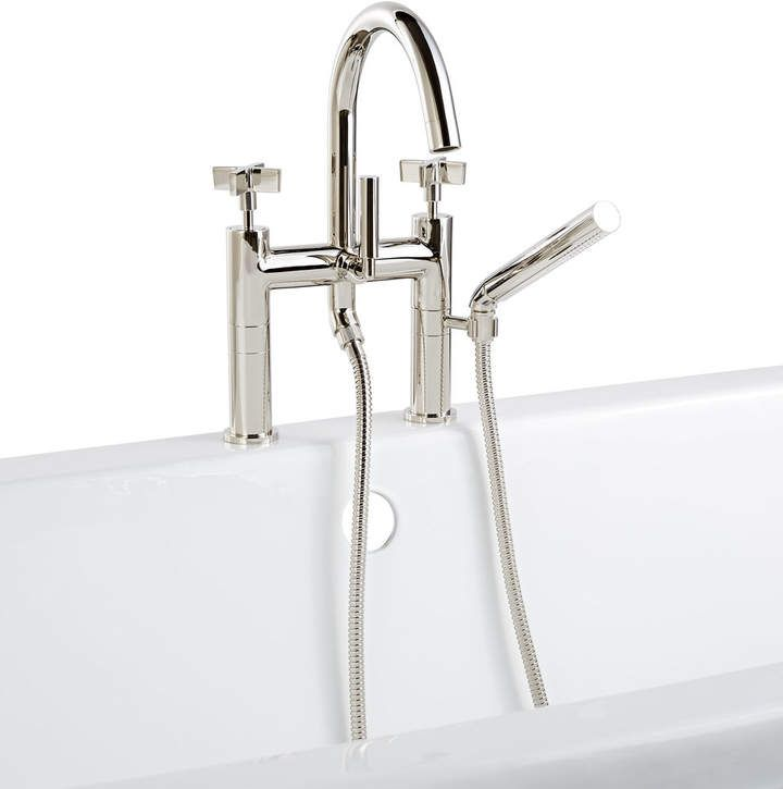 West Slope Deck Mounted Tub Filler With Hand Shower Products