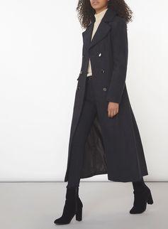 7ddc67696e1 Navy Military Maxi Coat - Dorothy Perkins. Navy Military Maxi Coat -  Military Coats - Clothing ...