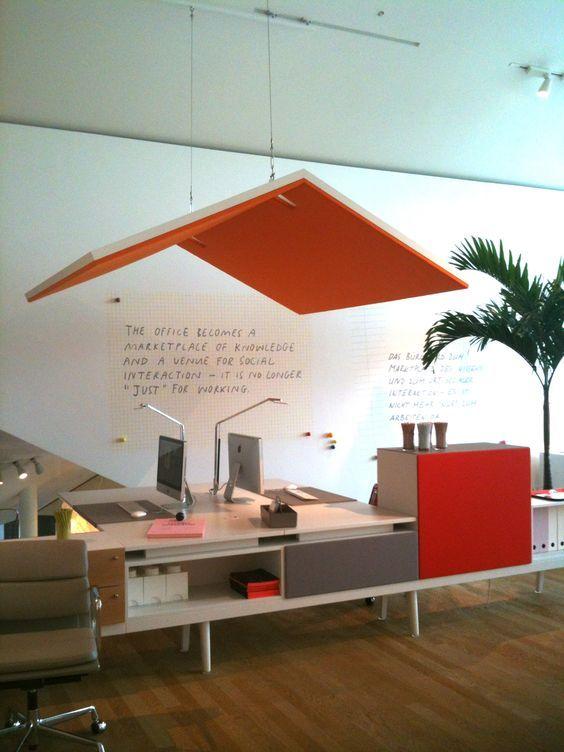 ceiling pinterest bureau acoustique et am nagement bureau. Black Bedroom Furniture Sets. Home Design Ideas