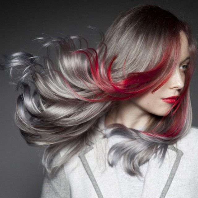 Wow Pravana Silver Red Hairr Love Pinterest Hair Red Hair