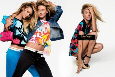 Juicy Couture Black Label | Spring 2016 Ad Campaign | The Impression