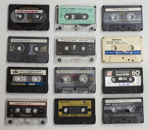 The cassette tape.