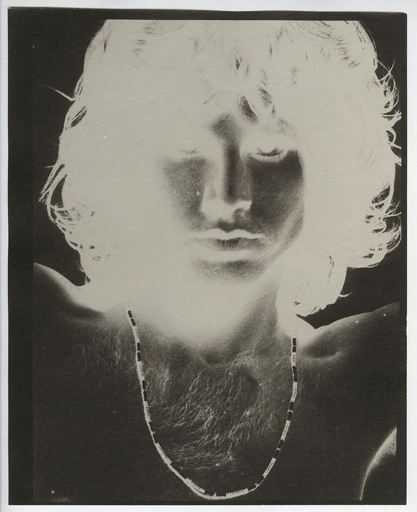 Gloria Stavers VINTAGE STAMPED Jim Morrison/The Doors in Negative RARE Photo & Gloria Stavers VINTAGE STAMPED Jim Morrison/The Doors in Negative ...