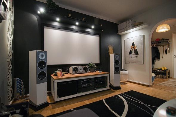 Tips To Achieve The Best Home Audio Kukun Home Theater Room Design Small Home Theaters Home Theater Setup