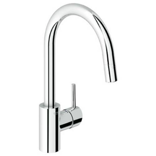 Grohe 32665 Concetto Single Handle Dual Spray Pull Down Kitchen