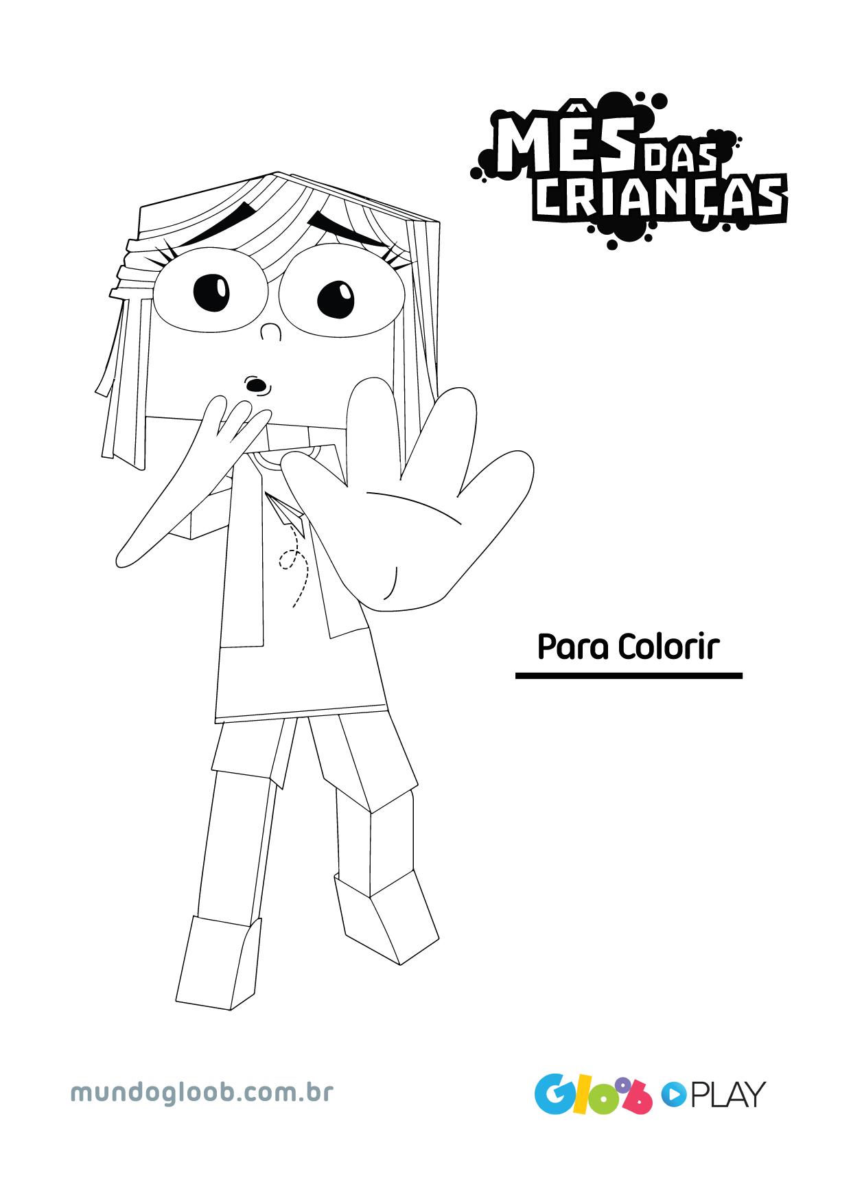 Mes Das Criancas Para Colorir Mes Das Criancas Especiais