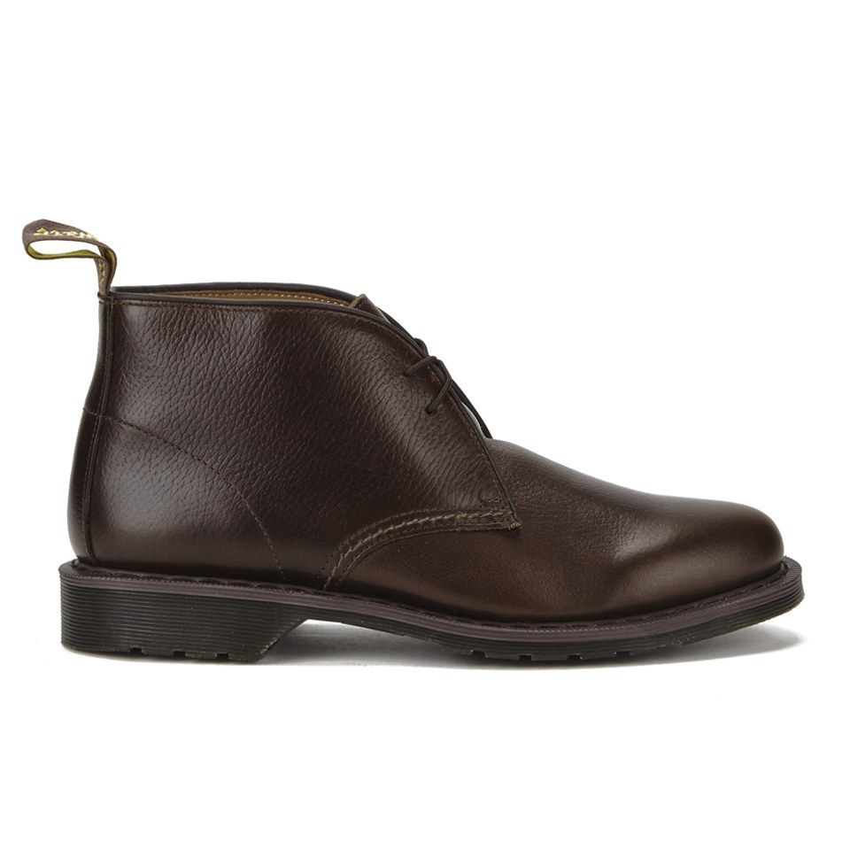 Get Dr. Martens Men's Oscar Sawyer New Nova Leather Desert Boots - Dark  Brown now