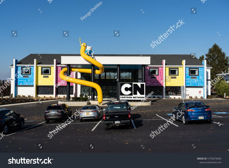 Lancaster Pa Usa November 25 2019 The Cartoon Network Hotel