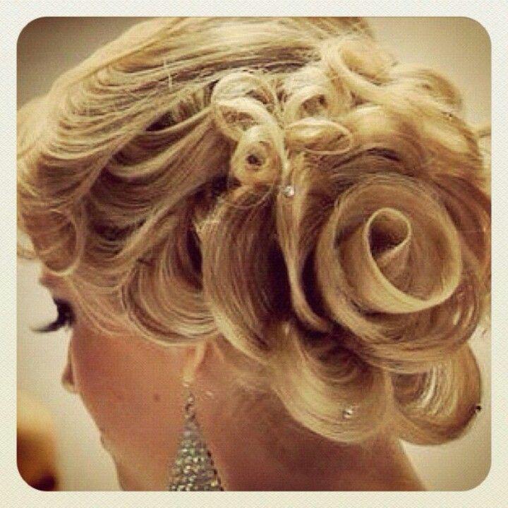 rose hair.