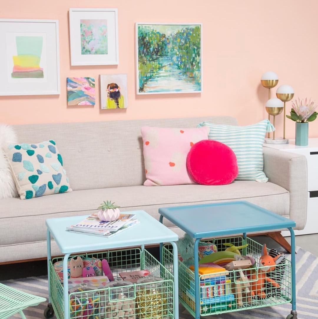 Image may contain table and indoor Kid room decor