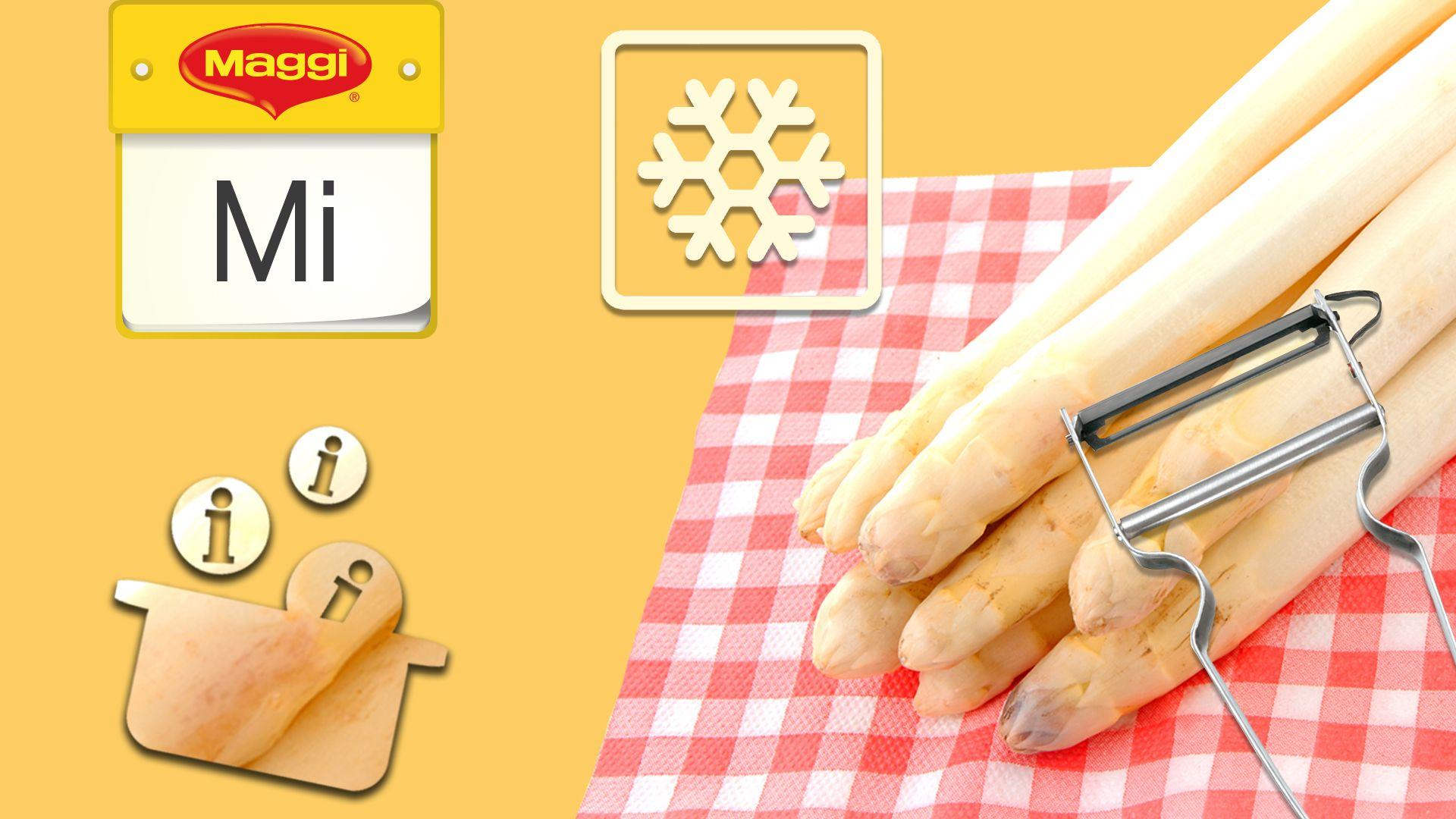 Wusstest du, dass man Spargel einfrieren kann? Erfahre hier interessante Fakten über Spargel!