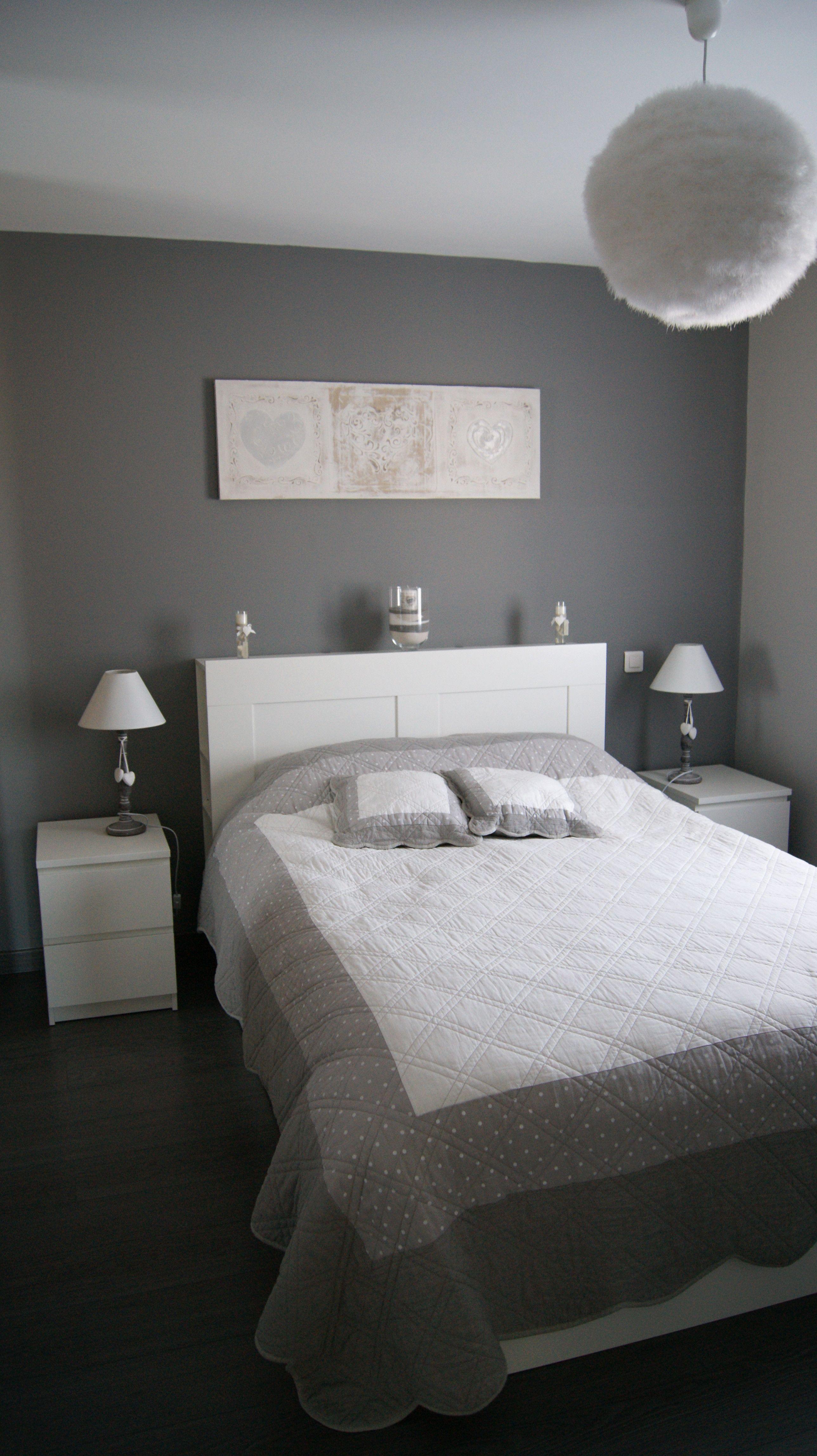 inspirational chambre parentale romantique id es de. Black Bedroom Furniture Sets. Home Design Ideas