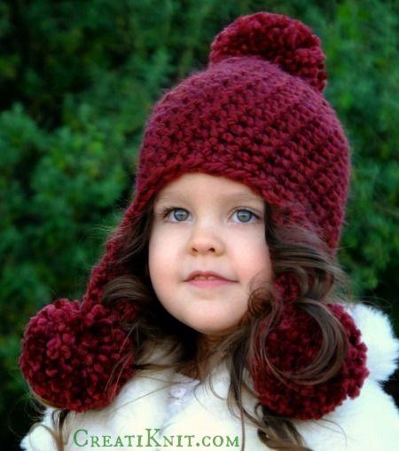 The Anastasia Pom Pom Hat Crochet Pattern Pom Pom Hat Hat Crochet