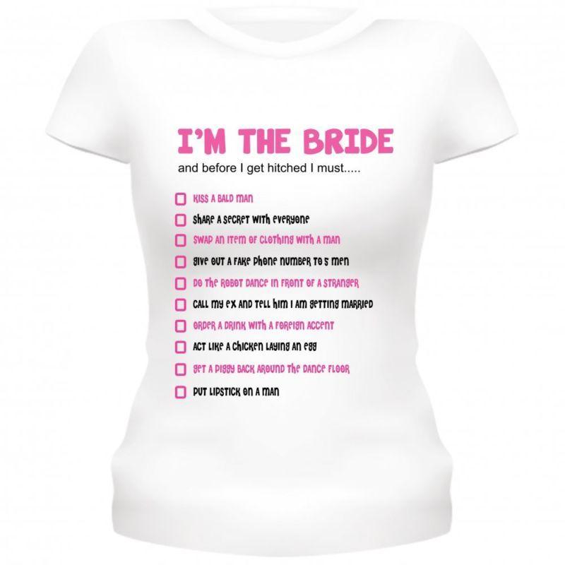 45b06b0516b80 Hen party t-shirts bride to be hen night t-shirts bride dares hen ...
