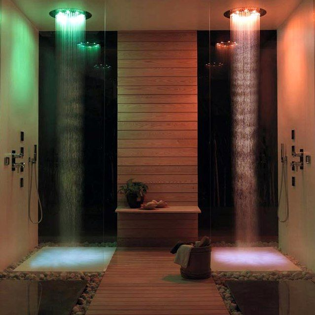 Douche CHROMOTHERAPIE - BBATH | For the Home | Pinterest | Douches ...