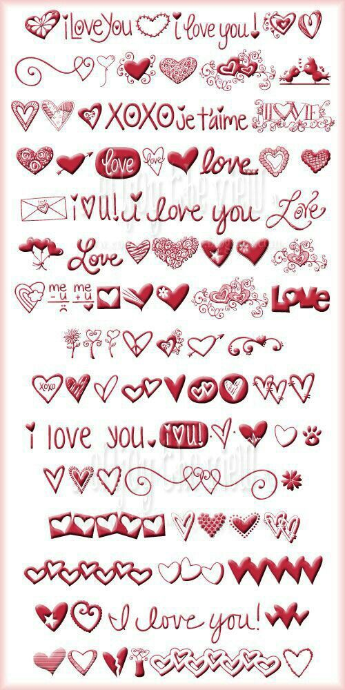 Pin By April Ordoyne On Hearts Valentine S Day Fonts Valentines Day