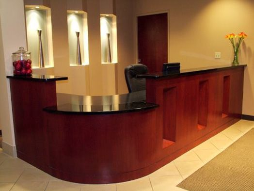 Medical Office Waiting Room   Dental And Medical Construction   Foothills  Commercial Builders Inc ..