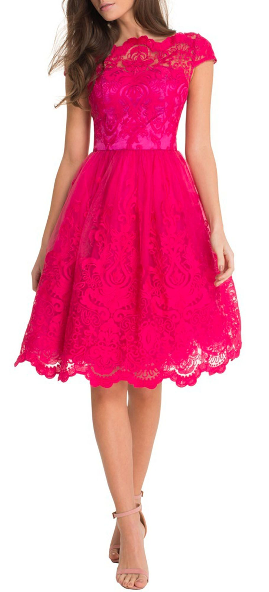ChiChi Kleid, Cocktailkleid, Abiball Kleid bei FrauenOutfits.de Das ...