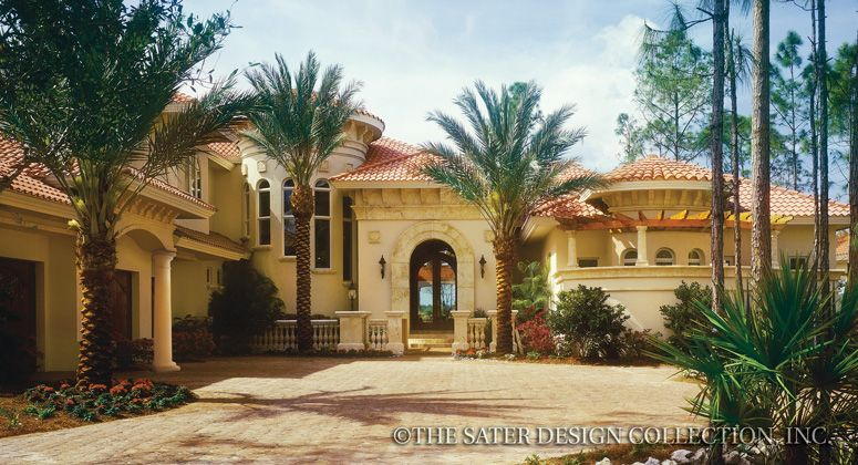 house plans mediterranean design square feet dream houses fancy houses