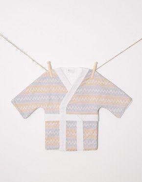 Kimono albornoz bebe Rai