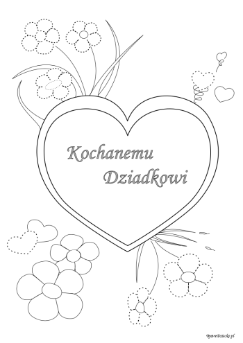 Dzien Babci I Dzien Dziadka Place Card Holders Cards Poster Pictures