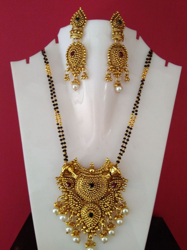 traditional south indian gold Plated designer Indian ...