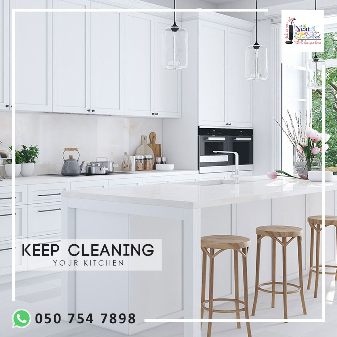 Our Maids Will Help You To Keep Clean And Organized Your Kitchen Kitchen Clean House Clean Kitchen