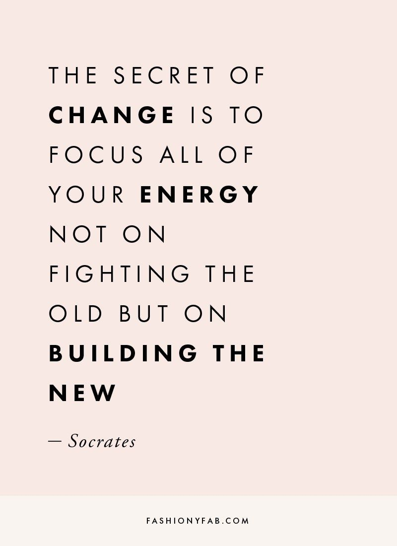 Change Inspirational Quotes: The Secret Of Change