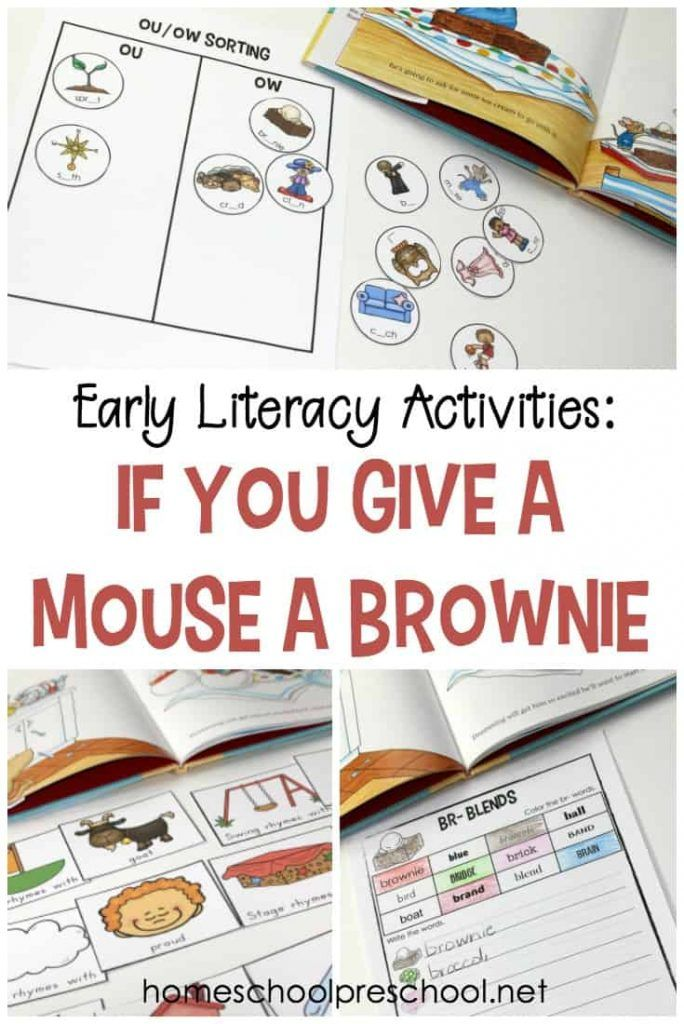 Free If You Give A Mouse A Brownie Book Companion Book