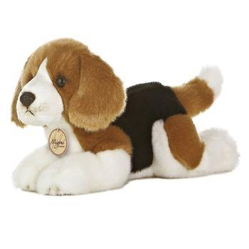 Realistic Stuffed Beagle 11 Inch Plush Dog By Aurora Teddy Dog