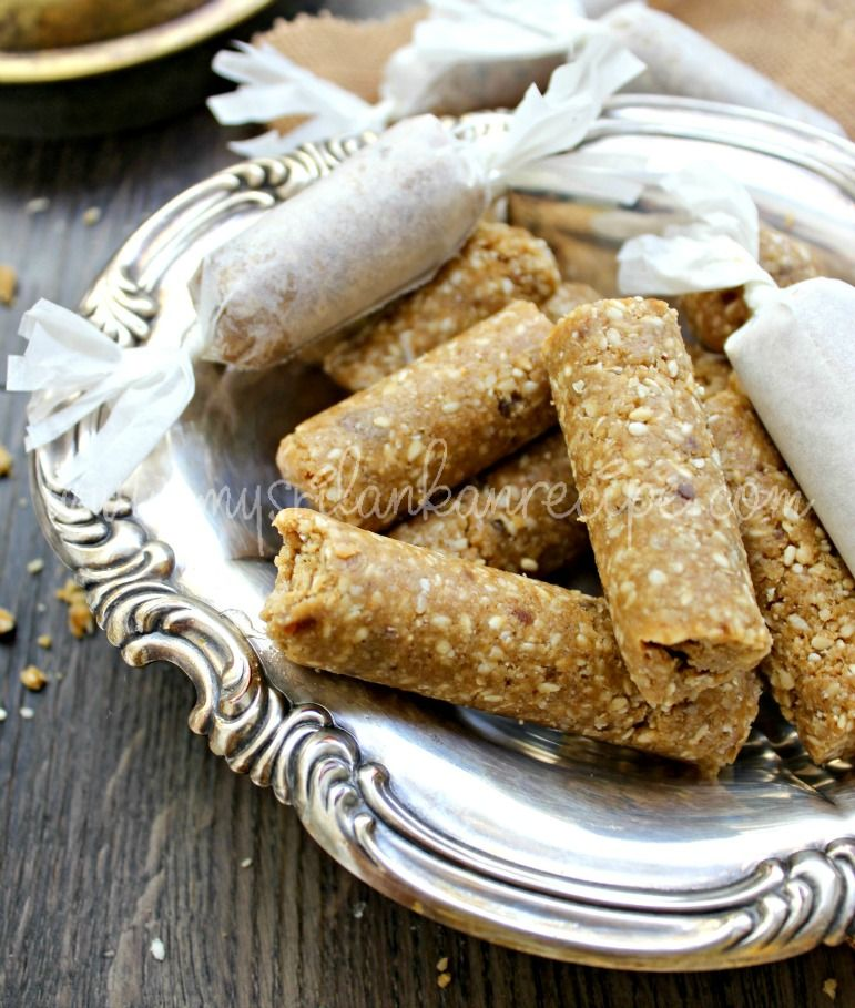 Sri Lankan Thala Guli is best known as a local sweetmeat  Since it
