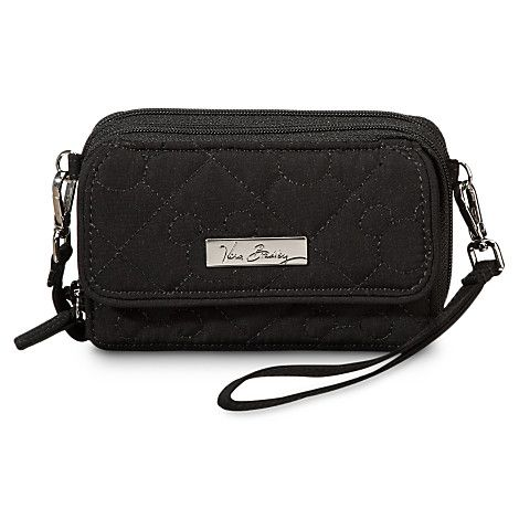 a804fbe682 Mickey Mouse Icon All in One Crossbody Purse by Vera Bradley - Black ...