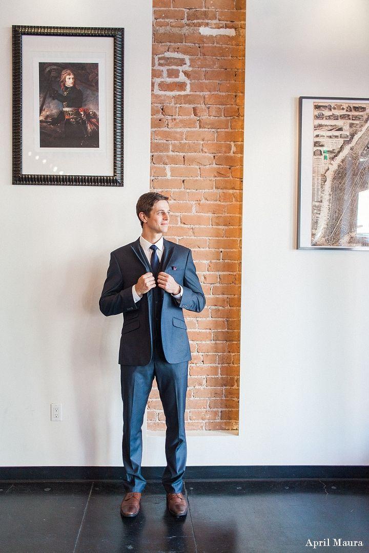 Groom_getting_ready | SoHo63 Wedding | Chandler Wedding Venue | April Maura Photography