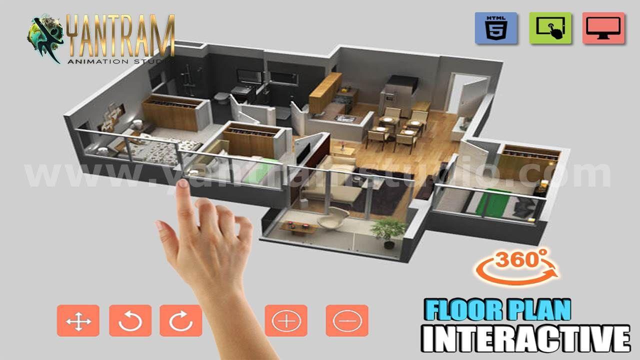Extraordinary Interactive Residential House 3d Virtual Floor Plan Design By Vr Development Istanbul Floor Plan Design Architectural Design Studio Floor Plans
