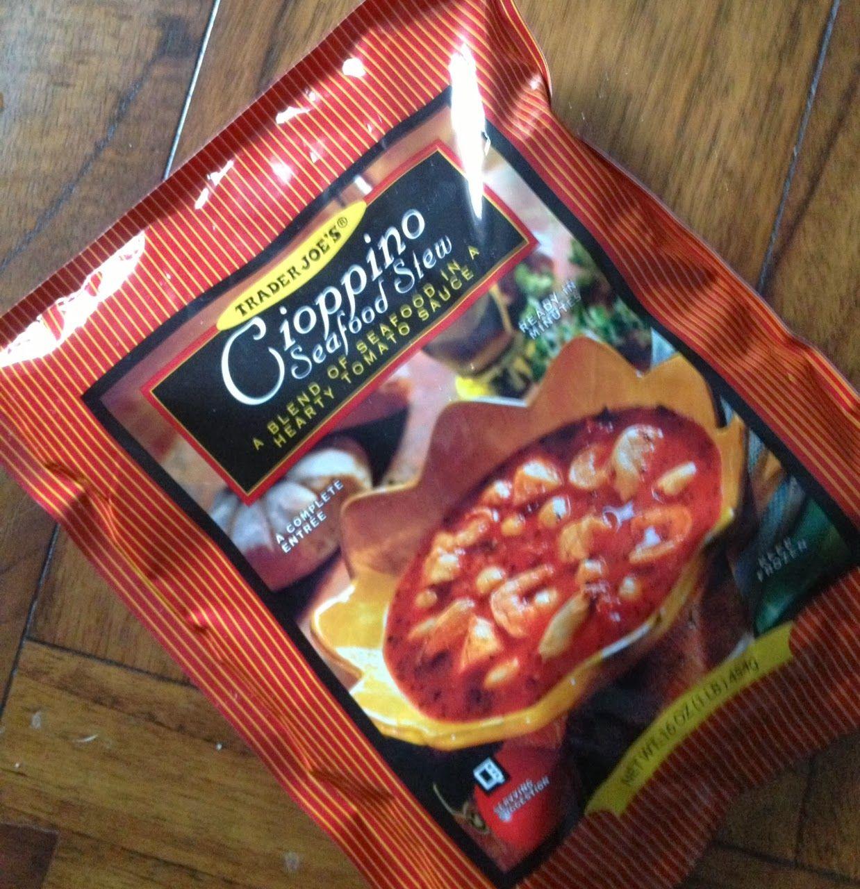 What S Good At Trader Joe S Trader Joe S Cioppino Seafood Stew Seafood Stew Fish Stew Recipes Trader Joes