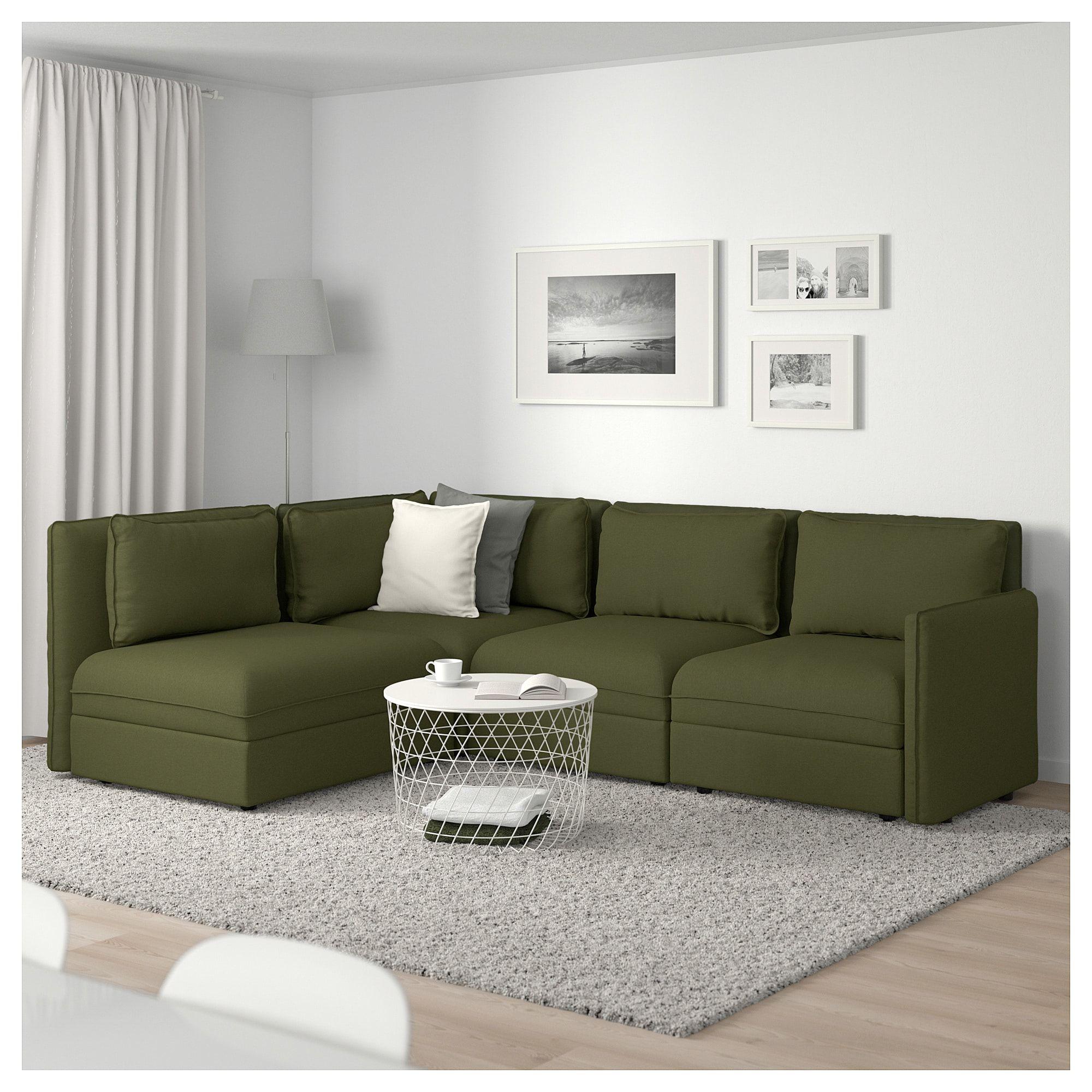 IKEA VALLENTUNA Modular corner sofa, 3seat Modular